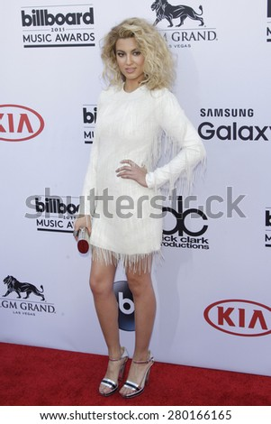 LAS VEGAS - MAY 17: Tori Kelly at the 2015 Billboard Music Awards at the MGM Grand Garden Arena on May 17, 2015 in Las Vegas, Nevada. - stock photo