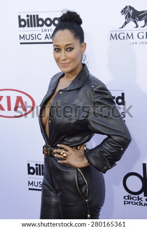 LAS VEGAS - MAY 17: Tracee Ellis Ross at the 2015 Billboard Music Awards at the MGM Grand Garden Arena on May 17, 2015 in Las Vegas, Nevada. - stock photo