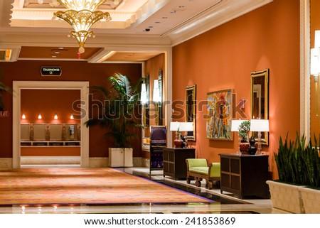 Las Vegas Nevada USA December 23 2014 Interiors Of Convention Center