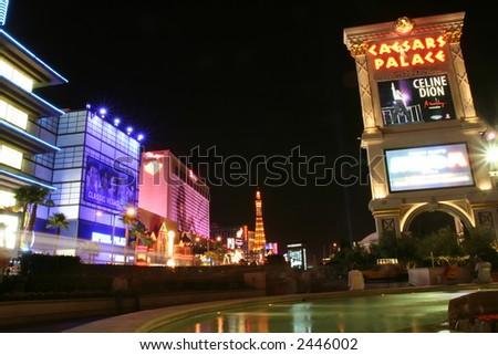 Las Vegas Night - stock photo