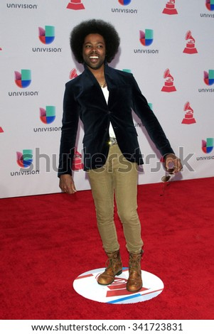 LAS VEGAS - NOV 19:  Alex Cuba at the 16th Latin GRAMMY Awards at the MGM Grand Garden Arena on November 19, 2015 in Las Vegas, NV - stock photo