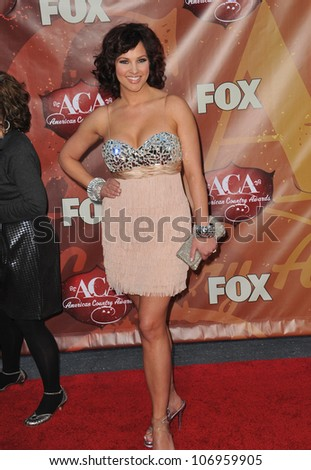 LAS VEGAS, NV - DECEMBER 6, 2010: Tiffany Fallon at the 2010 American Country Awards at the MGM Grand Garden Arena, Las Vegas..