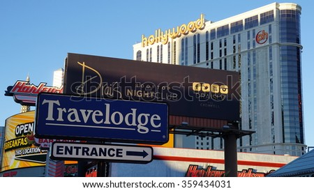 LAS VEGAS, NV - OCT 29: Las Vegas Strip view in Nevada, as seen on Oct 29, 2015. The Las Vegas Strip is an approximately 4.2-mile stretch of Las Vegas Boulevard South in Clark County, Nevada.