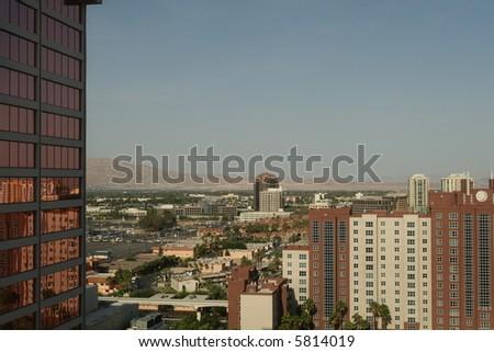 Las Vegas View - stock photo