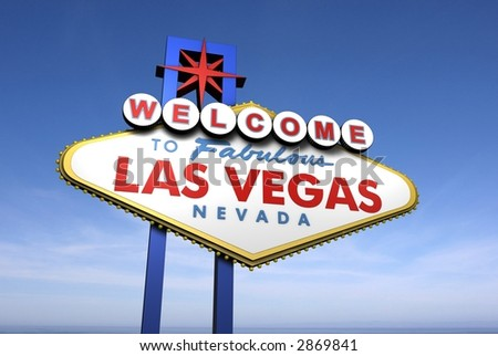 Las Vegas Welcome Sign - stock photo