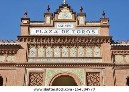Las Ventas Bullring, Madrid (Spain) - stock photo