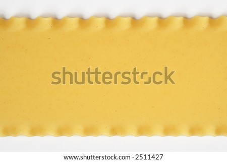Lasagna pasta, dried - stock photo