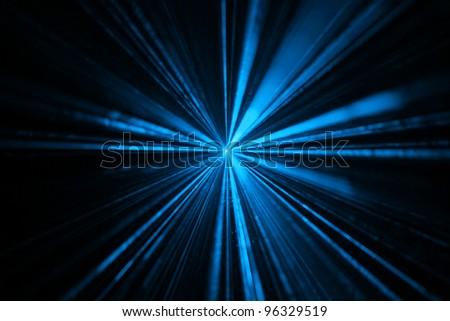 laser colors disco - stock photo