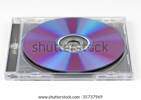 Laser disk - stock photo