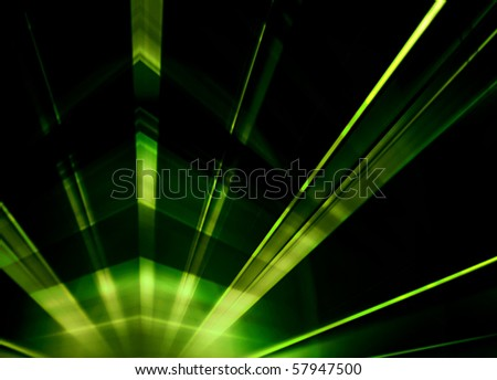 Laser light abstract background - stock photo