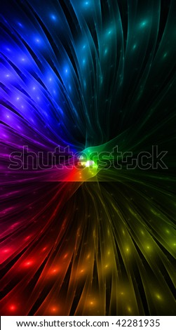 Laser light background.