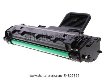 Laser printer cartridge - stock photo