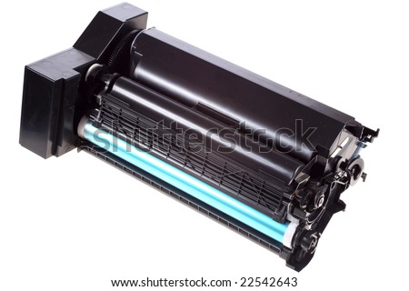 Laser printer toner cartridge - stock photo