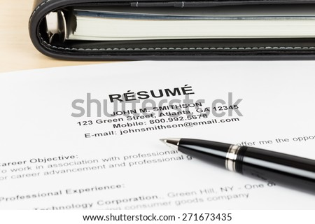 Last will on cream color paper with glasses and pen; document and information are mock-up - stock photo