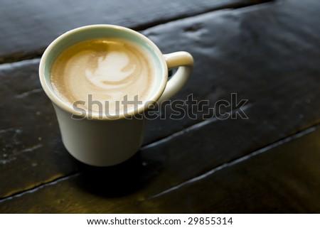 latte - stock photo