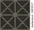 Lattice ( With Clipping Path, you can tile this image seamlessly) - stock photo