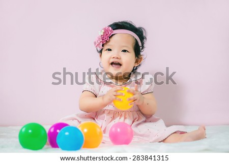 laughing baby,cheerful good mood