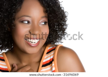 Laughing Black Girl