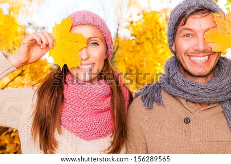 laughing smiling female and male  - stock photo