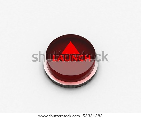 launch button - stock photo
