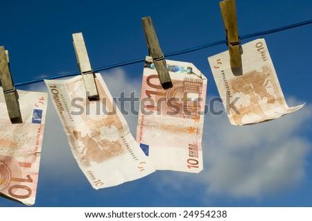 laundering - stock photo