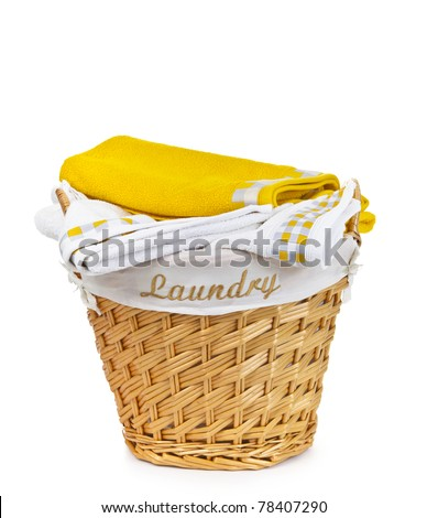 Laundry Basket - stock photo