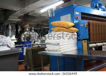 laundry industry - stock photo