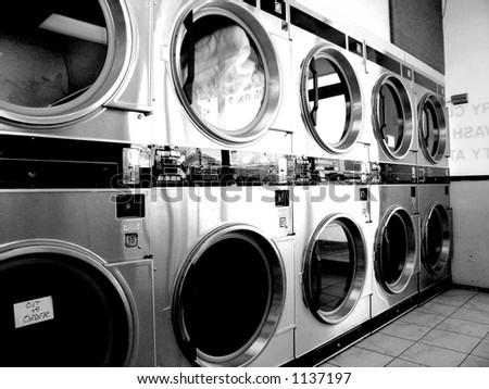 Laundry, Vintage - stock photo