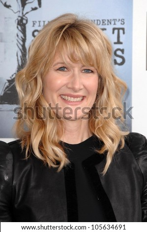 Laura Dern  at the 2009 Film Independent's Spirit Awards. Santa Monica Pier, Santa Monica, CA. 02-21-09