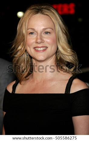 Laura Linney at the Los Angeles premiere of 'Man of the Year' held at the Grauman's Chinese Theater in Hollywood, USA on October 4, 2006.
