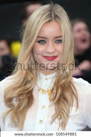 Laura Whitmore arriving at the Men In Black 3 Premiere, at Odeon Leicester Square, London. 16/05/2012 Picture by: Alexandra Glen / Featureflash