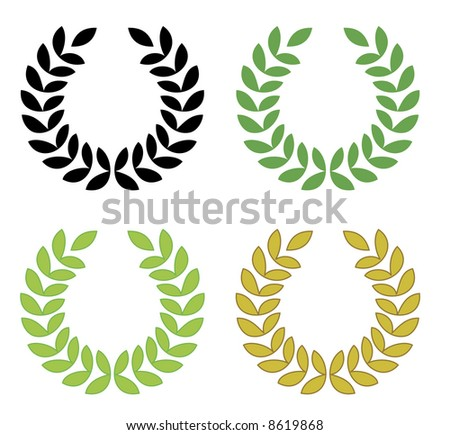 laurel wreath - check my gallery for VECTOR file or other related files