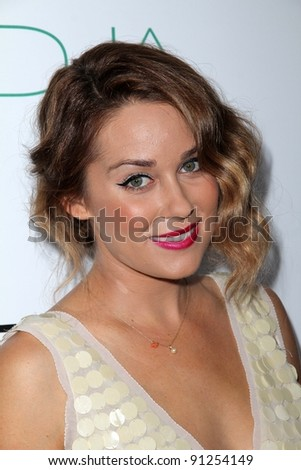 Lauren Conrad at the 2nd Annual Autumn Party, The London, West Hollywood, CA 10-26-11