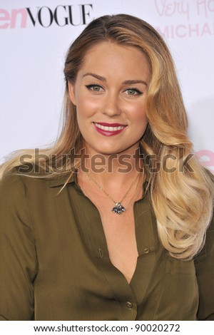 Lauren Conrad at the 8th Annual Teen Vogue Young Hollywood Party in partnership with Michael Kors at Paramount Studios, Hollywood. October 1, 2010  Los Angeles, CA Picture: Paul Smith / Featureflash