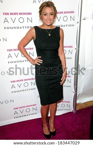 Lauren Conrad, in a Diane von Furstenberg dress, at The Hope Honors 8th Annual Avon Foundtion Awards, Cipriani Restaurant 42nd Street, New York, October 28, 2008 - stock photo