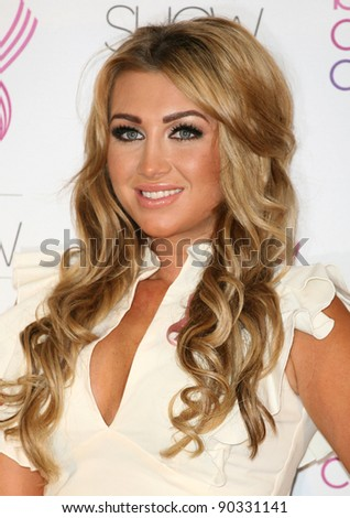Lauren Goodger attending the 2011 Breast Cancer Care Fashion Show, at the Grosvenor House Hotel, London. 05/10/2011 Picture by: Alexandra Glen / Featureflash
