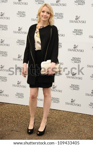 Lauren Laverne arriving for the English National Ballet's summer party, Kensington Palace Orangery, London. 27/06/2012 Picture by: Steve Vas / Featureflash - stock photo