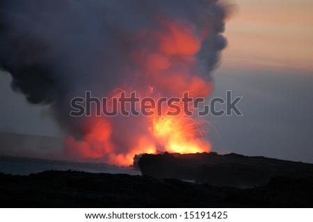 Lava 3 - stock photo