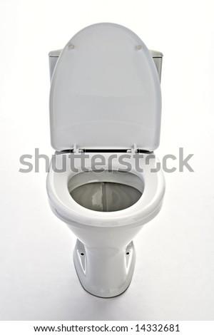 lavatory  isolated on white background - stock photo