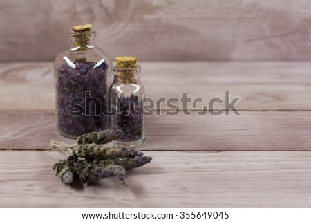 Lavender salt Spa