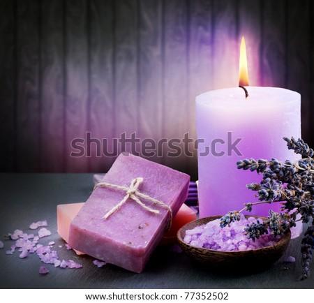 Lavender Spa - stock photo