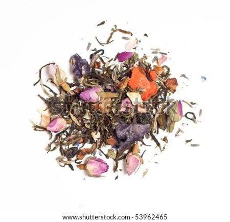 Lavender White Tea - stock photo