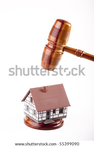 Law and home concept - stock photo