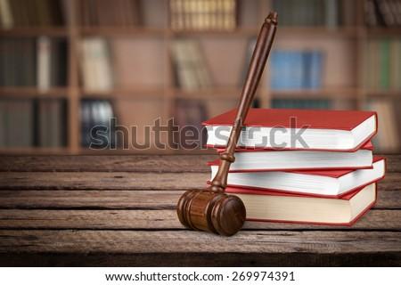 Law, Book, Legislation. - stock photo