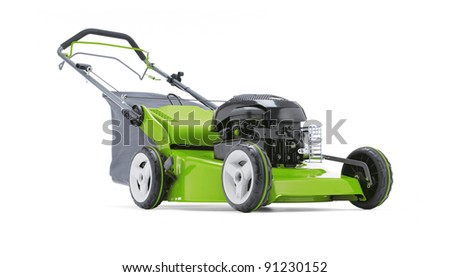 Lawn mower 02 - stock photo