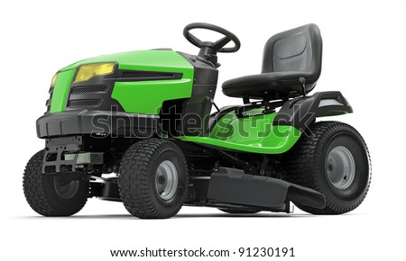 Lawn mower 03 - stock photo