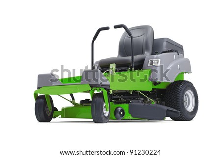 Lawn mower 04 - stock photo