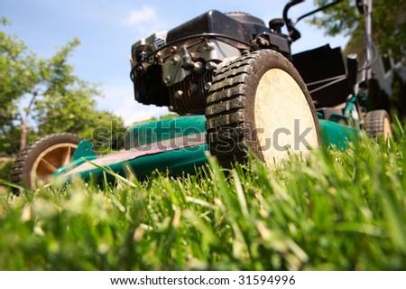 Lawnmower - stock photo