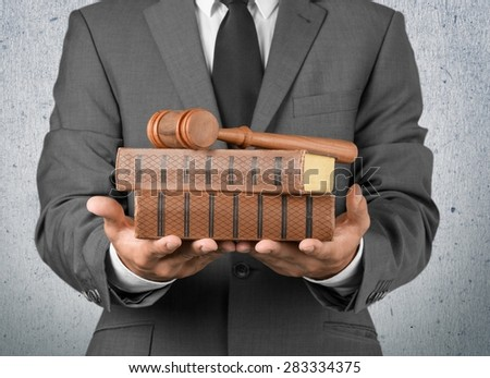 Lawyer, Law, Business. - stock photo