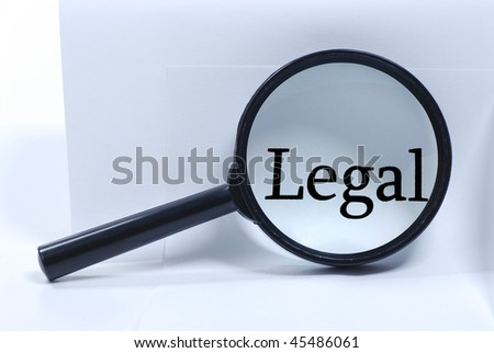 lawyer office - stock photo